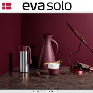 Кофейные стаканы EVA для эспрессо, 2 шт по 80 мл, розовый, фарфор, силиконовый ободок Eva Solo, Дания, арт. 96909, фото 3