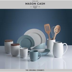 """Глубокая тарелка """"Linear"""", 23 см, каменная керамика, цвет серо-синий, Mason Cash, арт. 112045, фото 3"""