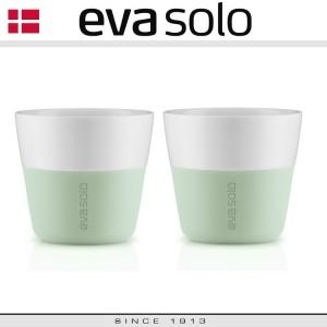 Кофейные стаканы EVA для лунго, 2 шт 230 мл, эвкалиптовый, фарфор, силиконовый ободок, Eva Solo, Дания, арт. 96912, фото 4