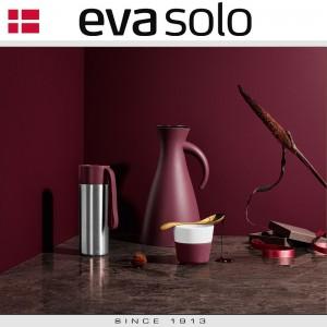 Кофейные стаканы EVA для латте, 2 шт 360 мл, розовый, фарфор, силиконовый ободок, Eva Solo, Дания, арт. 96911, фото 3