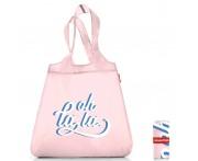 Сумка складная mini maxi shopper oh la la, L 43,5 см, W 6 см, H 65 см, Reisenthel