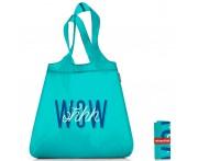 Сумка складная mini maxi shopper ohhh wow, L 43,5 см, W 6 см, H 65 см, Reisenthel