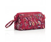 Косметичка travelcosmetic paisley ruby, L 27,3 см, W 14,3 см, H 17,3 см, Reisenthel