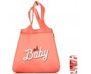 Сумка складная mini maxi shopper oh baby, L 43,5 см, W 6 см, H 65 см, Reisenthel