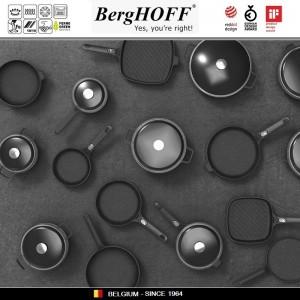 GEM Крышка, D 24 см, жаропрочное стекло, сталь нержавеющая, BergHOFF, арт. 89770, фото 4