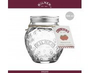 Банка Preservation Strawberry, 400 мл, KILNER, Англия