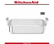 Жаровня 3 Ply Steel, 37 х 27 см, сталь 18/10, индукционное дно, KitchenAid