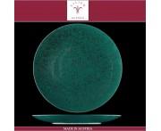 Блюдо-тарелка подстановочная Lifestyle бирюзовый, D 30 см, фарфор, Lilien, Австрия