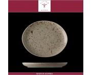 Блюдо овальное Lifestyle песочный, L 20 см, фарфор, Lilien, Австрия