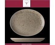 Блюдо овальное Lifestyle песочный, L 28 см, фарфор, Lilien, Австрия