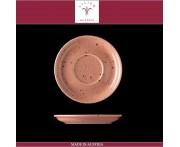 Блюдце Lifestyle терракотовый, D 15 см, фарфор, Lilien, Австрия