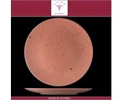 Блюдо-тарелка подстановочная Lifestyle терракотовый, D 30 см, фарфор, Lilien, Австрия