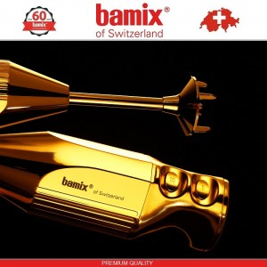 BAMIX M200 Gold Starlet LuxuryLine блендер, 24K золотое покрытие, Швейцария, арт. 96821, фото 2