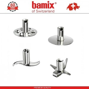 BAMIX M200 Gold Starlet LuxuryLine блендер, 24K золотое покрытие, Швейцария, арт. 96821, фото 4