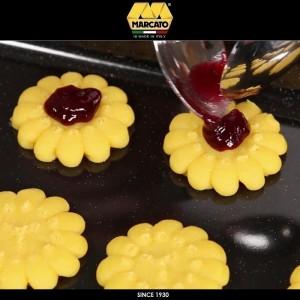 Шприц Biscotto для печенья, 20 насадок, цвет красный, Marcato, Италия, арт. 24366, фото 5