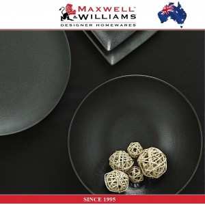 Обеденная тарелка Caviar цвет гранит, 27 см, фарфор, Maxwell & Williams, арт. 92481, фото 5