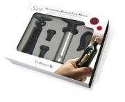 Набор для вина 5 предметов: штопор, обрезатель фольги, помпа+2 вакуумные пробки, Vin Bouquet, Испания