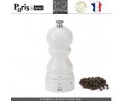 Мельница Paris U Select Laque Blanc для перца, H 12 см, белый, PEUGEOT, Франция