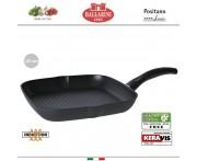 Антипригарная гриль-сковорода Positano, 28 х 28 см, индукционное дно, Ballarini, Италия