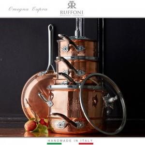 Ковшик OMEGNA CUPRA, ручная работа, 1.5 л, D 16 см, медь, сталь, RUFFONI, Италия, арт. 89538, фото 3