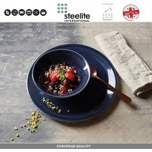 Блюдце Indigo Vesuvius для арт 112726, 16.5 см, фарфор, Steelite, Великобритания, арт. 112736, фото 4