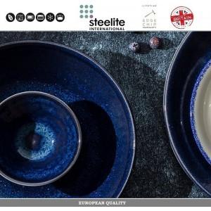 Кружка Indigo Vesuvius для кофе эспрессо, 85 мл, фарфор синий, Steelite, Великобритания, арт. 112730, фото 3