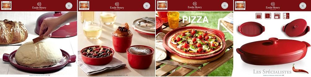 Aperitivo набор блюд для запекания и подачи, 3 шт, керамика, цвет бежевый, Emile Henry