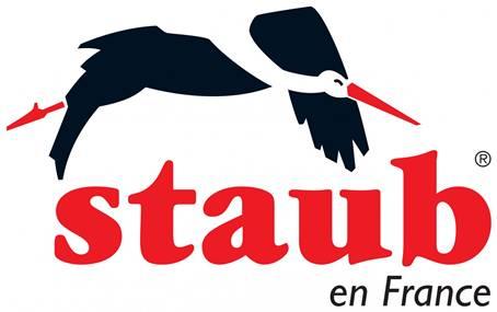 11024107 Кастрюля чугунная La Cocotte, 3.8 л, D 24 см, эмаль цвет белый трюфель, Staub, Франция