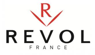 Блюдо BASALT для подачи с выемкой под кружку (соусник), 29 x 13 см, REVOL, Франция