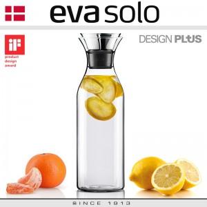 Графин Fridge для горячих и холодных напитков в неопреновом текстурном чехле, 1 л, черный, Eva Solo, арт. 72579, фото 9