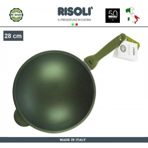 Антипригарный вок Dr.Green, D 28 см, Risoli, Италия, арт. 89293, фото 3
