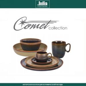 Блюдо-тарелка COMET морская волна, ручная работа, D 23 см, by Julia Vysotskaya, арт. 92473, фото 2