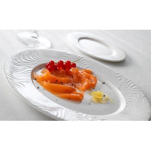 Блюдо овальное «Optik», L 34 см, W 26,5 см, Steelite, Великобритания, арт. 9162, фото 2