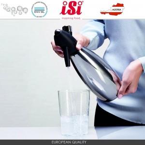 Сифон для содовой, 1 л, алюминий пищевой, черный, iSi, Австрия, арт. 10304, фото 7
