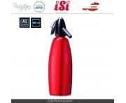 Сифон для содовой, 1 л, алюминий пищевой, красный, iSi, Австрия