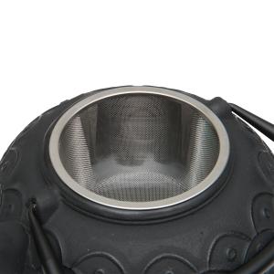 Заварочный чайник STUDIO чугунный с ситечком, 1.4 л, цвет черный, BergHOFF, арт. 89799, фото 2