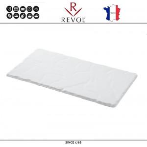 Блюдо BASALT прямоугольное белое, 23 x 12 см, REVOL, Франция, арт. 8840, фото 1