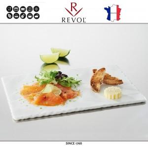 Блюдо BASALT прямоугольное белое, 23 x 12 см, REVOL, Франция, арт. 8840, фото 3