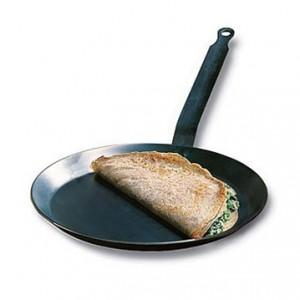 Сковорода для блинов профессиональная, D 26 см, алюминий, тефлон, CHOC, de Buyer, Франция, арт. 36275, фото 3
