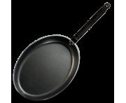 Сковорода для рыбы овальная, L 23 см, W 23 см, алюминий, тефлон, CHOC, de Buyer, Франция