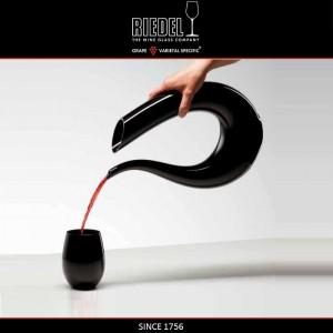 Декантер AMADEO BLACK ручной выдувки, 1.5 л, H 35 см, черный хрусталь, Riedel, Австрия, арт. 16395, фото 2