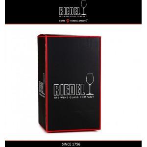 Декантер CORNETTO BLACK ручной выдувки, 1.2 л, H 32.5 см, черный хрусталь, Riedel, Австрия, арт. 16409, фото 3