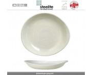 Блюдо-салатник Scape, D 24 см, 370 мл, фарфор, цвет молочно-белый глянец, Steelite, Великобритания