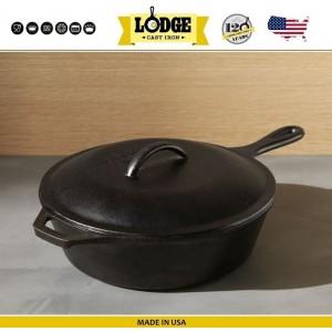 Крышка для сковороды арт. 5212 , D 20 см, чугун, Lodge, США, арт. 16591, фото 4