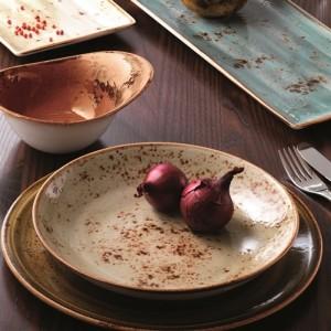 Тарелка мелкая «Craft», D 20 см, коричневый, Steelite, Великобритания, арт. 9006, фото 3