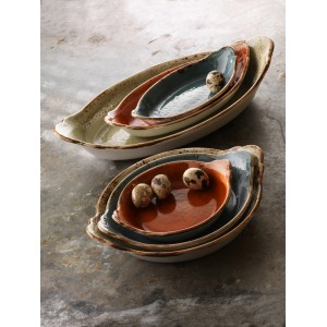 Салатник «Craft», 670 мл, L 28 см, W 24 см, оливковый, Steelite, Великобритания, арт. 9256, фото 4