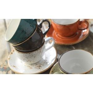 Чашка чайная «Craft», 285 мл, D 9 см, H 6,5 см, терракотовый, Steelite, Великобритания, арт. 9503, фото 3