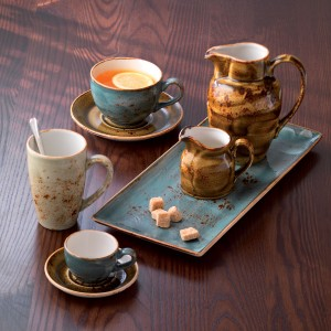 Чашка чайная «Craft», 285 мл, D 9 см, H 6,5 см, терракотовый, Steelite, Великобритания, арт. 9503, фото 4