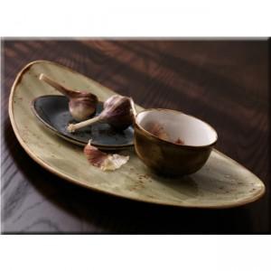 Салатник «Craft», 1000 мл, D 25,5 см, H 3,5 см, оливковый, Steelite, Великобритания, арт. 9268, фото 4