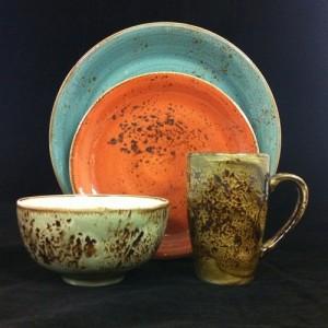 Тарелка мелкая «Craft», L 25,5 см, W 20,5 см, синий, Steelite, Великобритания, арт. 9051, фото 2